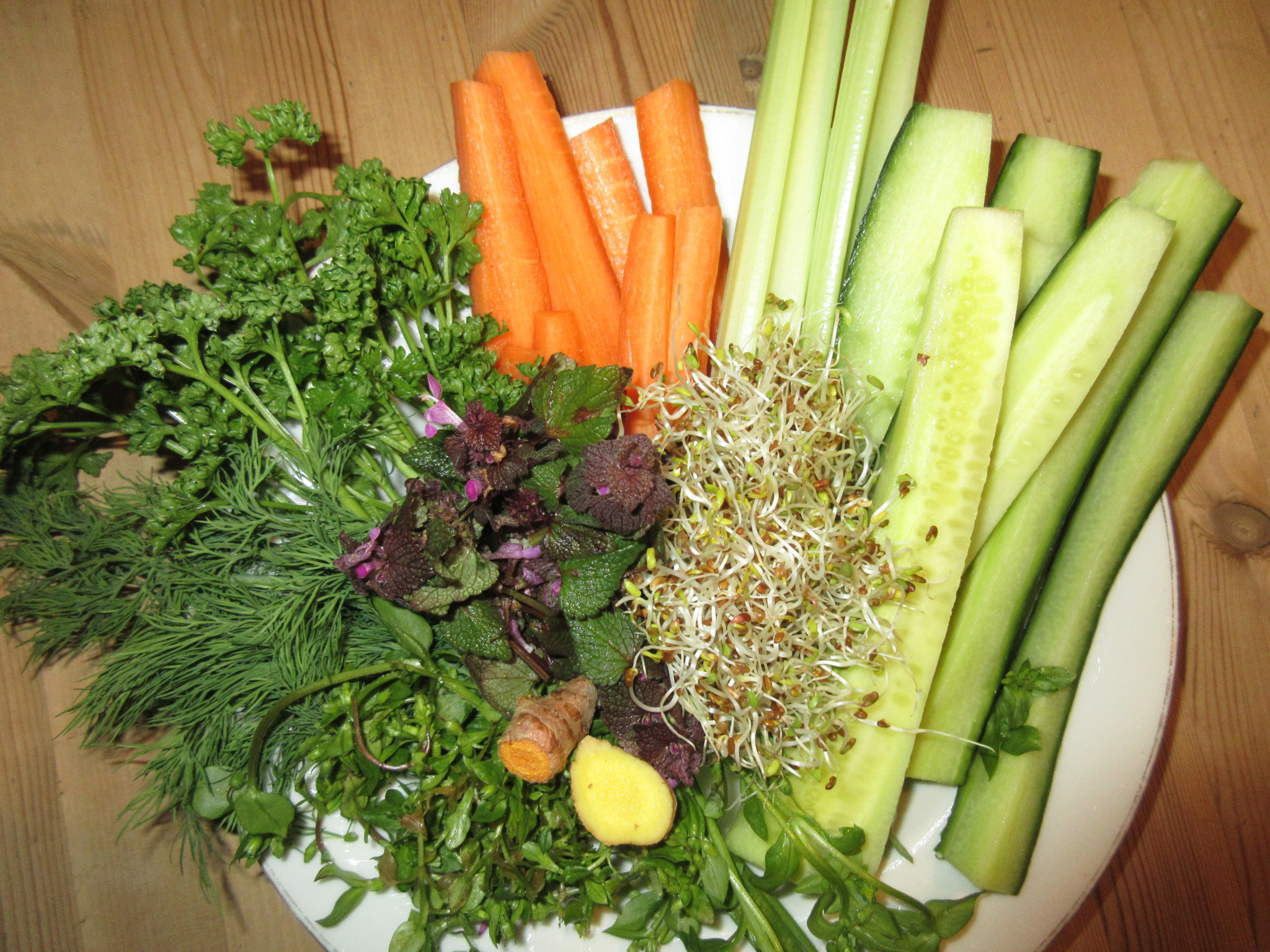 Saft aus Gemüse