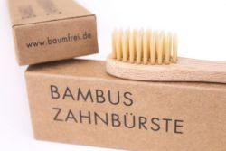 Zahnbuerste aus Bambus