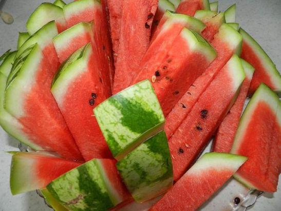 Wassermelonenstreifen