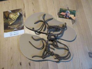 Kreuzschnürung Sandalen