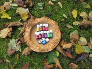 Herbst und Winter mit Ölen