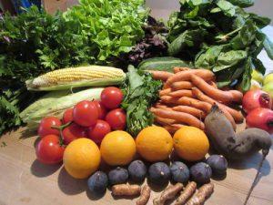 Obst und Gemüse für die Gesundheit